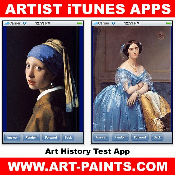 Art History Test App