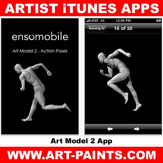 Art Model 2 – Action Poses App