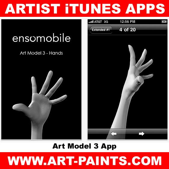Art Model 3 - Hands App