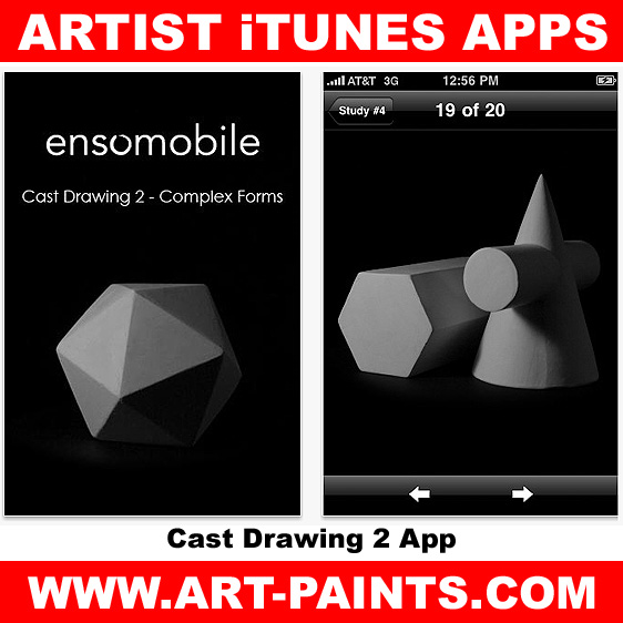 Cast Drawing 2 – Complex Forms App
