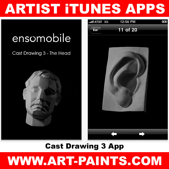 Cast Drawing 3 – The Head App