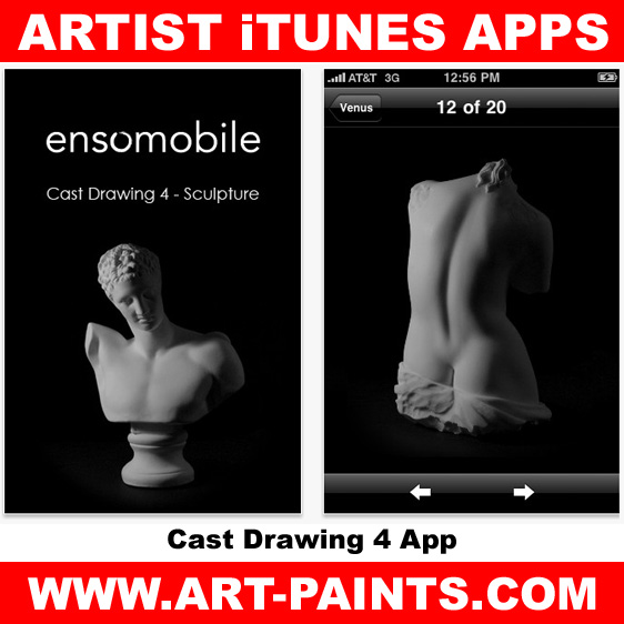 Cast Drawing 4  – Sculpture App