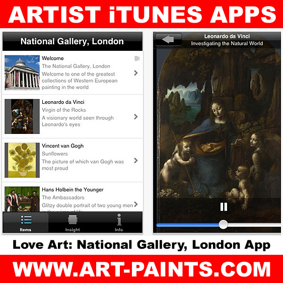 Love Art National Gallery App