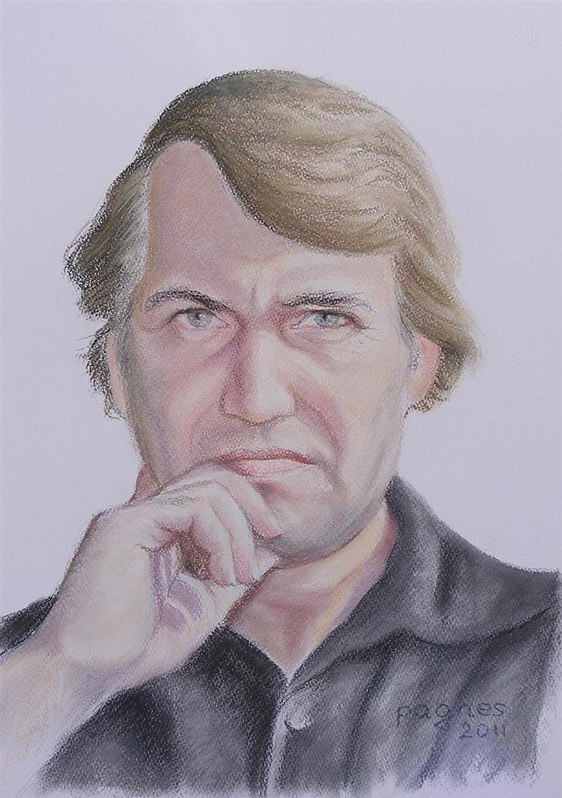 Oil Painting Of A Man