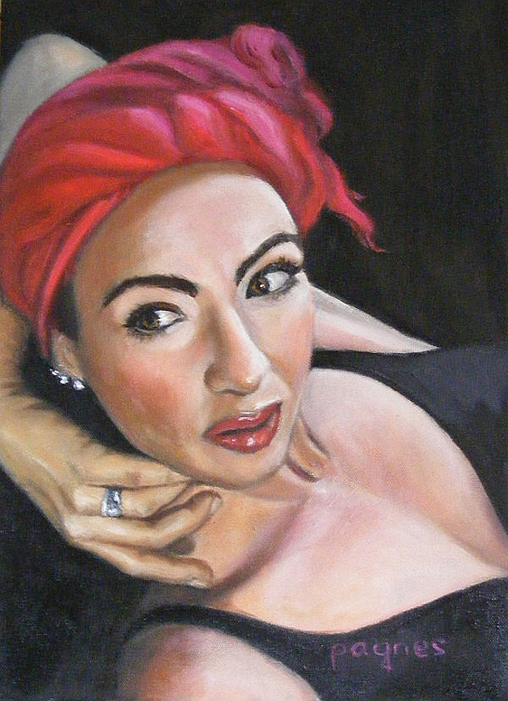 Portrait Of A Woman Oil Painting