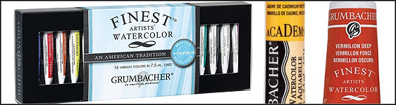 Grumbacher Watercolor Paints