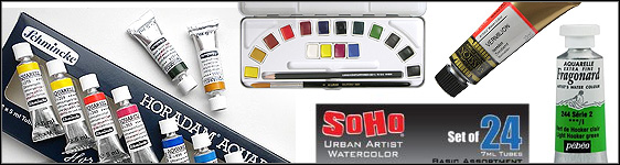 Many Watercolor Paint Brands