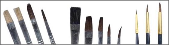 Oil Paint Brush Basics