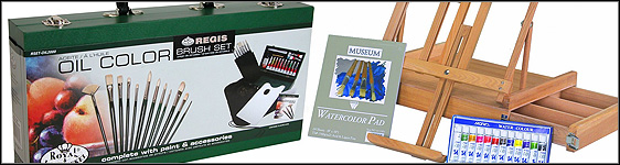 Oil Paint Travel Kits