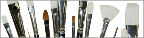 Oil Painters Favorite Brush