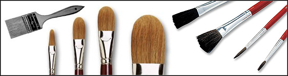 Paint Brushes For Oil Painting