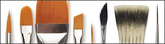 Specialty Watercolor Paint Brushes