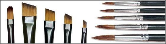 Watercolor Paint Brush Basics
