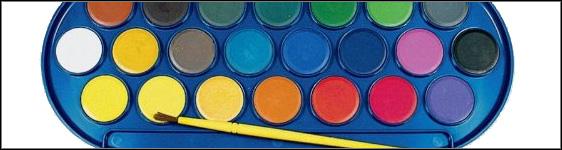 Watercolor Pan Paints